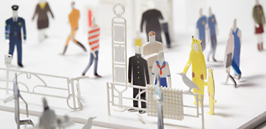 1/100 dress-up stickers for ARCHITECTURAL MODEL ACCESSORIES SERIES No.1 Tokyo