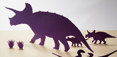 1/100 ARCHITECTURAL MODEL ACCESSORIES SERIES No.15 MESOZOIC・ Cretaceous Dinosaurs from prosperity to demise