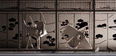 博物館 美術館 おしゃれ 雑貨 手作りキット テラダモケイ No.39 忠臣蔵・松の廊下編