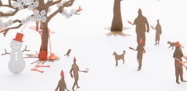 北海道くらし百貨店「北海道の風景 わーい!雪だ編」