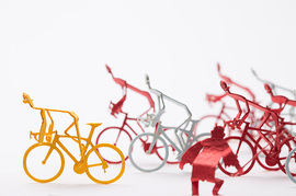 1/100 ARCHITECTURAL MODEL ACCESSORIES SERIES No.63 Cycle Road Race