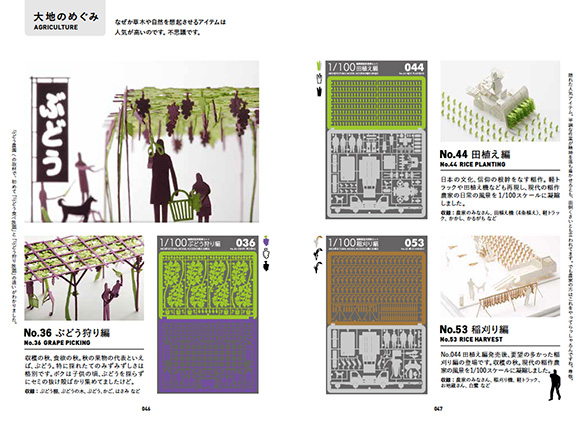 The Book of TERADA MOKEI  How to enjoy paper model of 1/100 scale 002