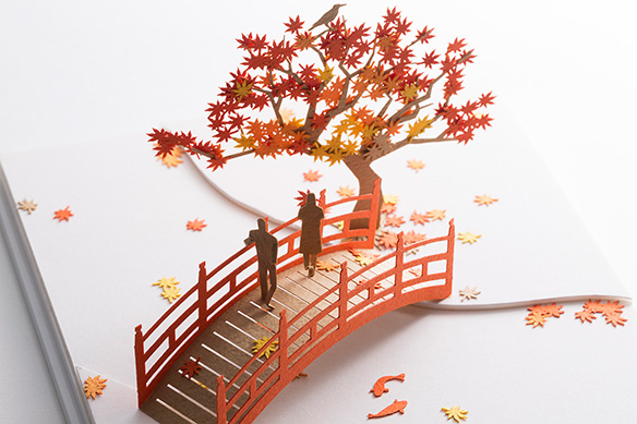 1/100 ARCHITECTURAL MODEL ACCESSORIES SERIES No.61 Fall Foliage 003