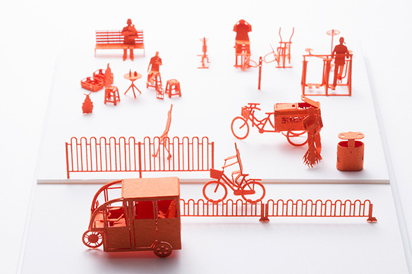 1/100 SCALE ARCHITECTURAL MODEL ACCESSORIES SERIES No.64 Beijing