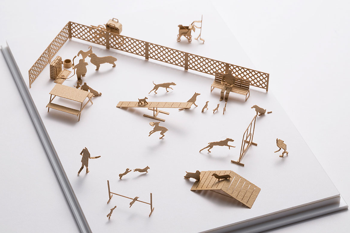 1/100 ARCHITECTURAL MODEL ACCESSORIES SERIES No.67 Dog Run