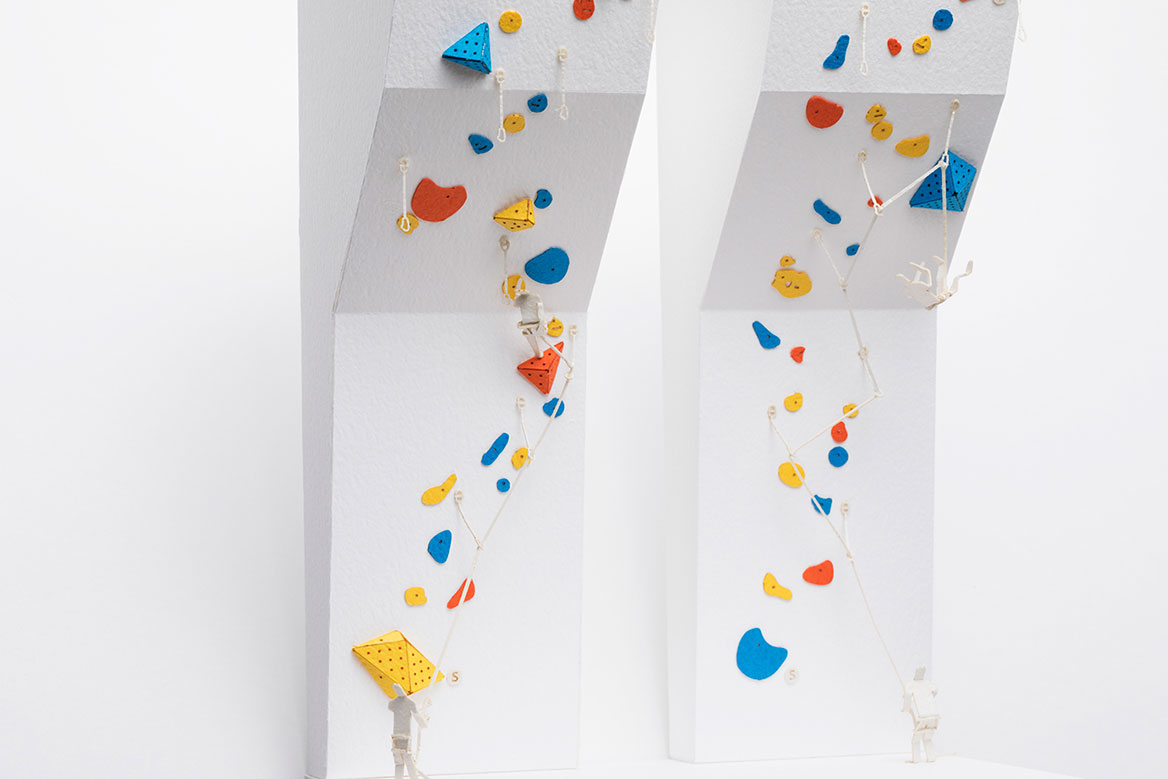 1/100 SCALE ARCHITECTURAL MODEL ACCESSORIES SERIES No.75 Sport Climbing