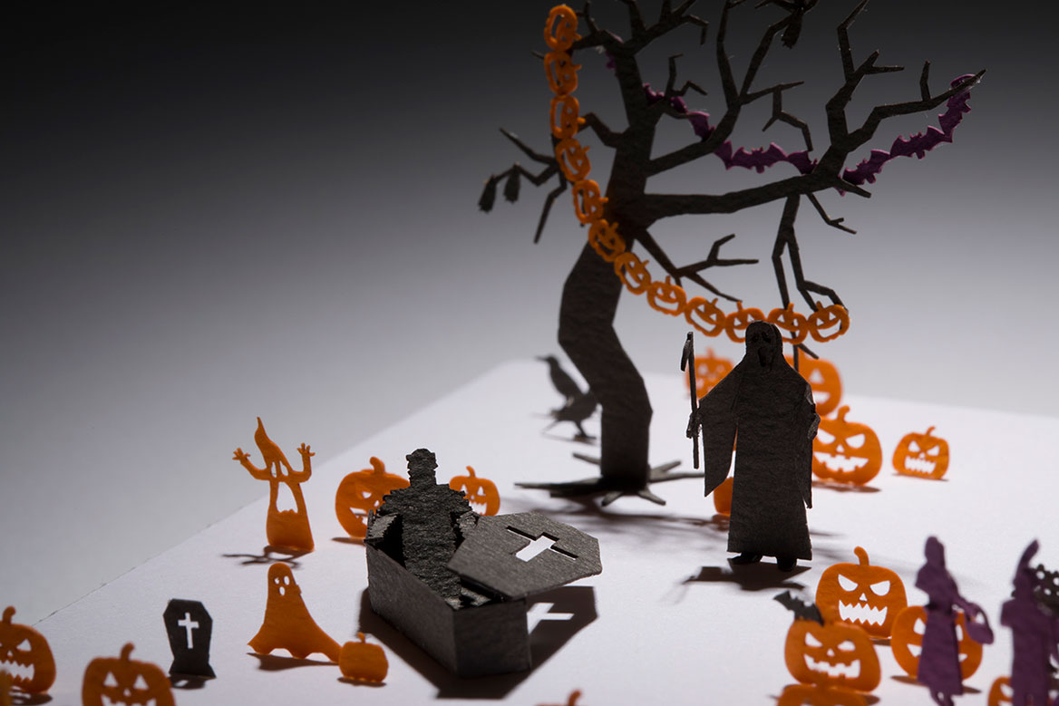 1/100 ARCHITECTURAL MODEL ACCESSORIES SERIES No.76 Halloween