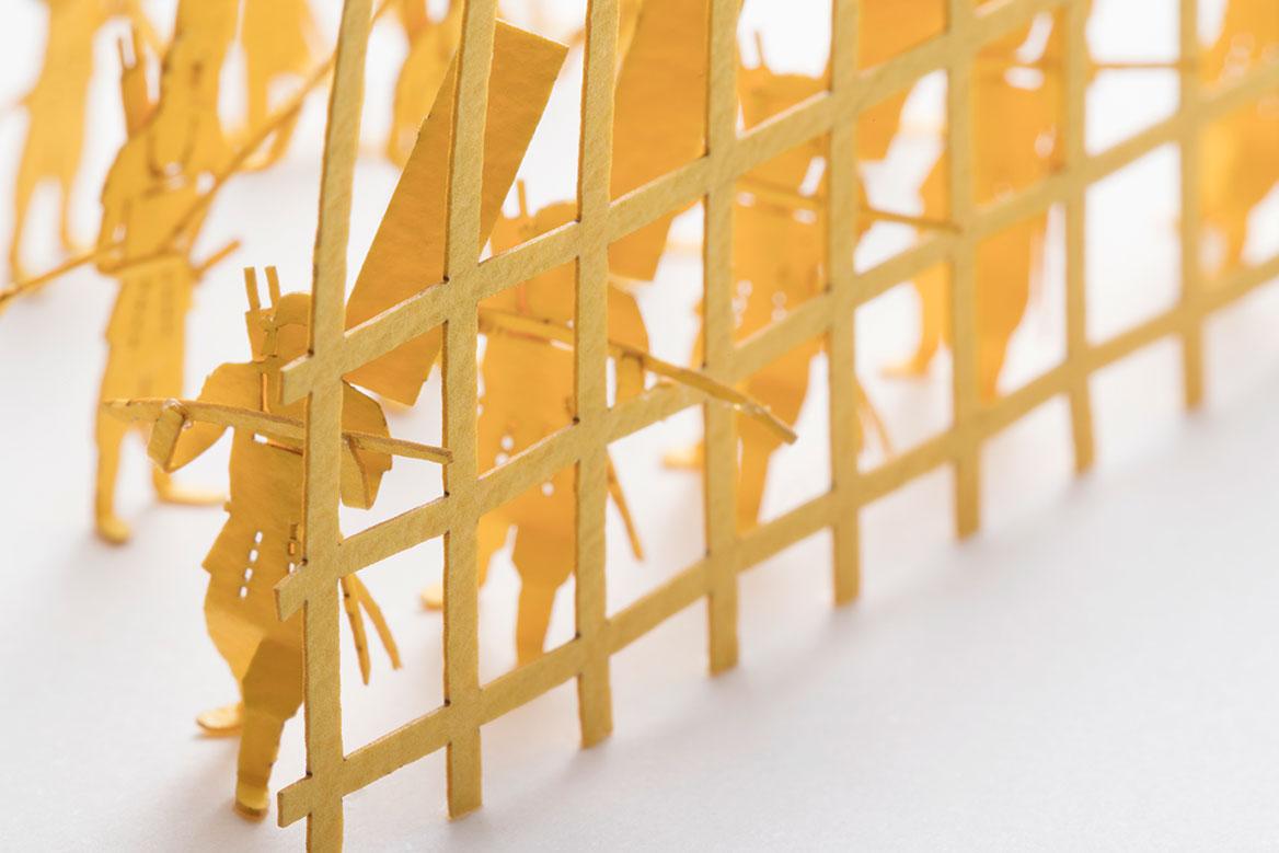 1/100 ARCHITECTURAL MODEL ACCESSORIES SERIES No.79 Oda's Arquebusiers