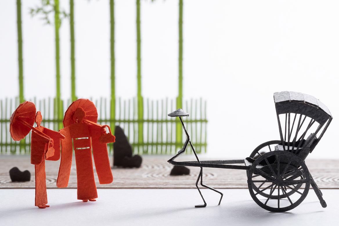 1/100 ARCHITECTURAL MODEL ACCESSORIES SERIES No.90 Kyoto