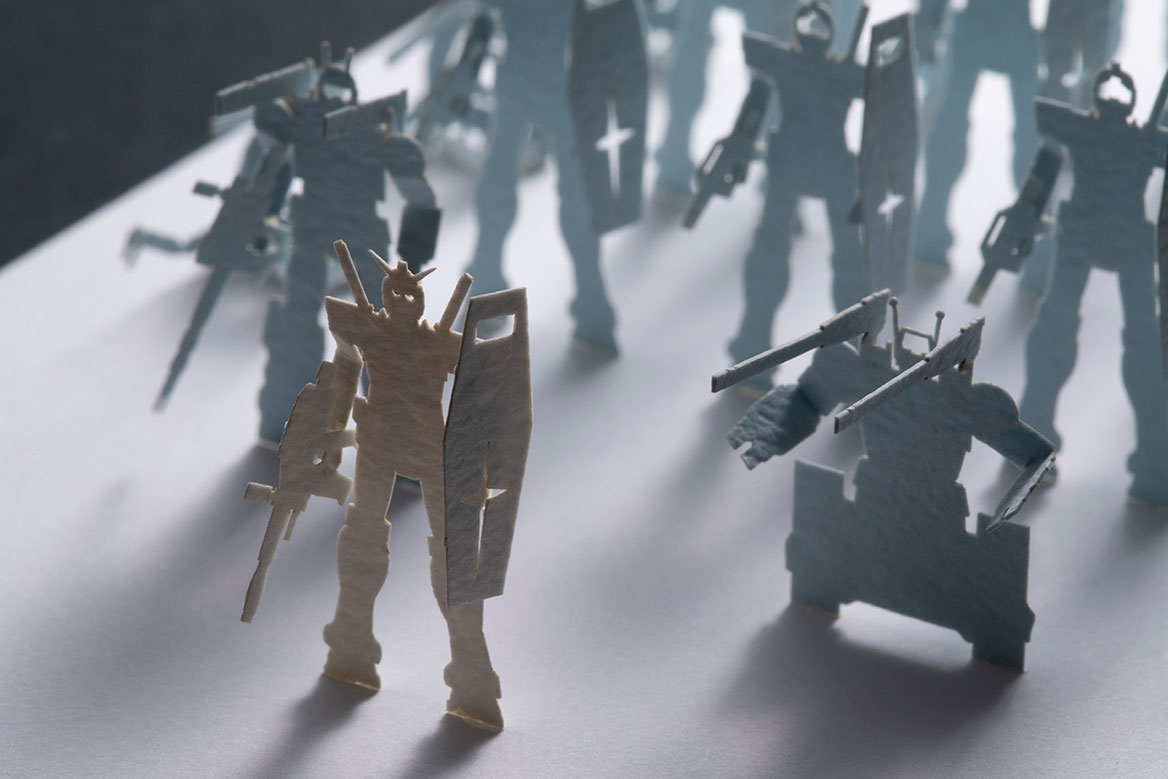 1/700 ARCHITECTURAL MODEL ACCESSORIES SERIES Special edition MOBILE SUIT GUNDAM G02