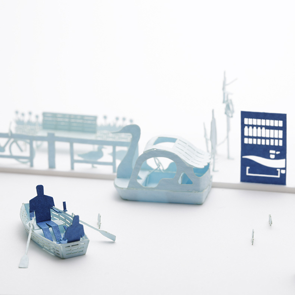 1/100 ARCHITECTURAL MODEL ACCESSORIES SERIES Special edition POCARI SWEAT