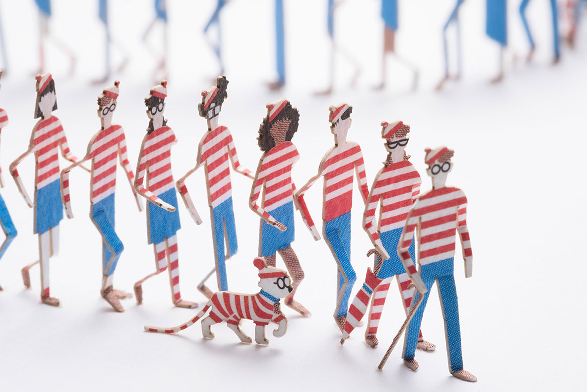 1/100 ARCHITECTURAL MODEL ACCESSORIES SERIES Special edition Where's Wally