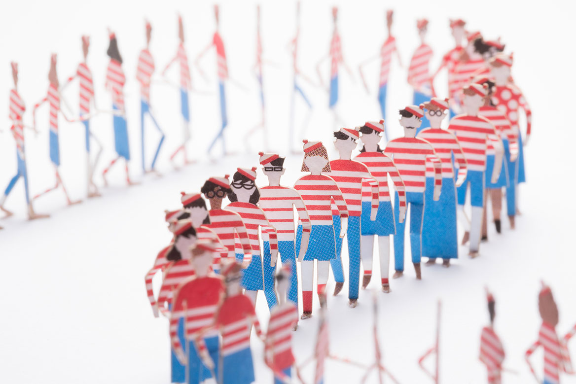 1 100 ARCHITECTURAL MODEL ACCESSORIES SERIES Special edition Where s Wally 5908a66e4