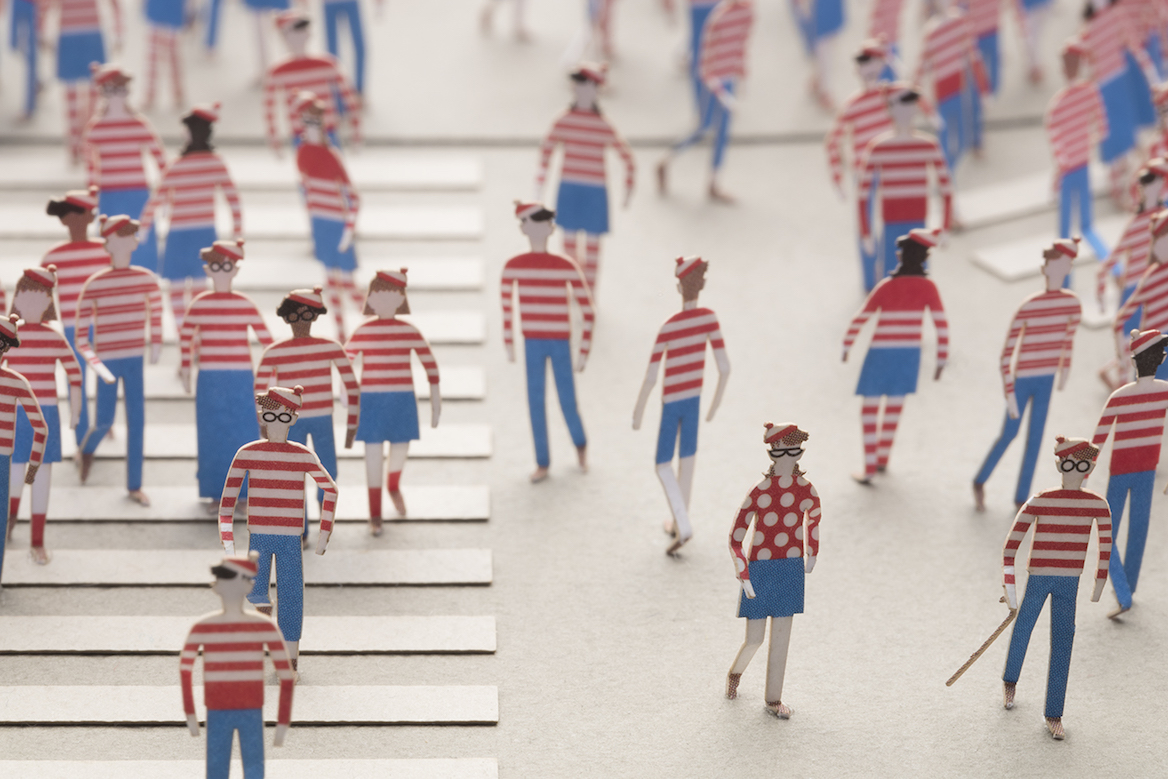 1 100 ARCHITECTURAL MODEL ACCESSORIES SERIES Special edition Where s Wally