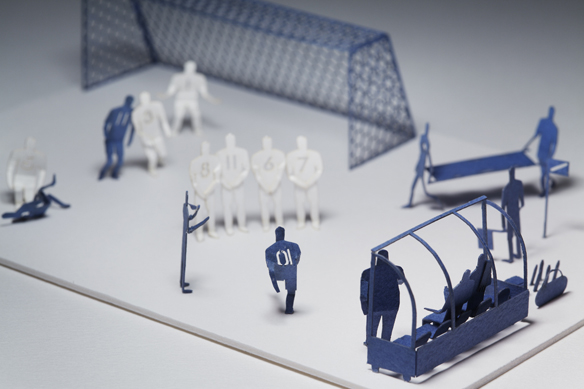 1/100 ARCHITECTURAL MODEL ACCESSORIES SERIES No.7 Foot Ball