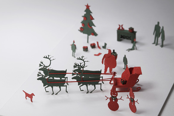 1/100 ARCHITECTURAL MODEL ACCESSORIES SERIES No.8 Christmas
