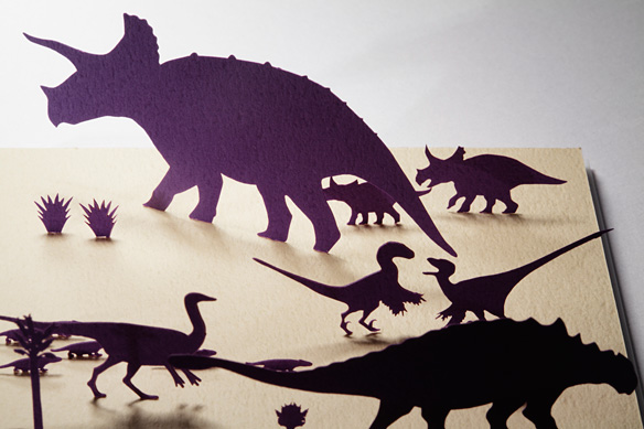 1/100 ARCHITECTURAL MODEL ACCESSORIES SERIES  No.15  MESOZOIC・ Cretaceous (Dinosaurs from prosperity to demise)