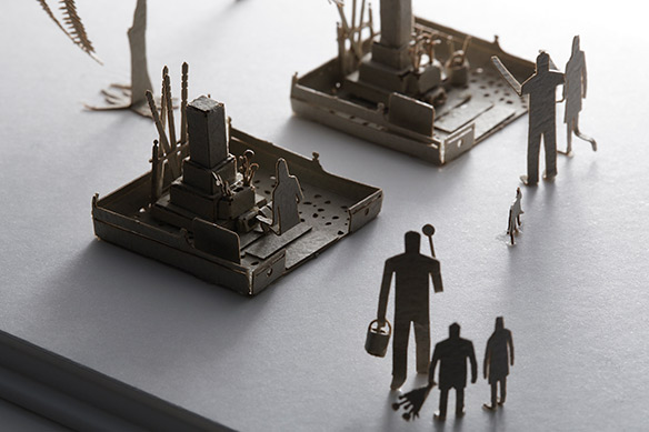 1/100 SCALE ARCHITECTURAL MODEL ACCESSORIES SERIES No. 35 Graveyard