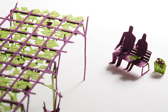 1/100 ARCHITECTURAL MODEL ACCESSORIES SERIES No.36 Grape Picking