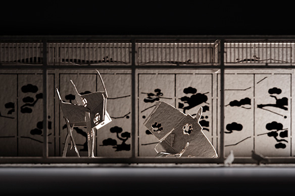 1/100 ARCHITECTURAL MODEL ACCESSORIES SERIES No. 39 Chushingura 2