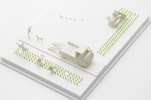 1/100 ARCHITECTURAL MODEL ACCESSORIES SERIES No.44 Rice Planting