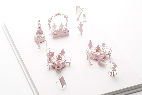 1/100 ARCHITECTURAL MODEL ACCESSORIES SERIES No.45 Wedding Reception