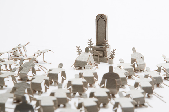 1/100 ARCHITECTURAL MODEL ACCESSORIES SERIES No.54 Chushingura - Graveside Report
