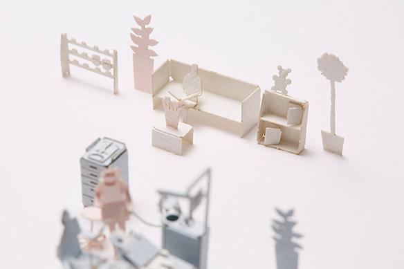 1/100建築模型用添景セット No.55 歯科医院編002