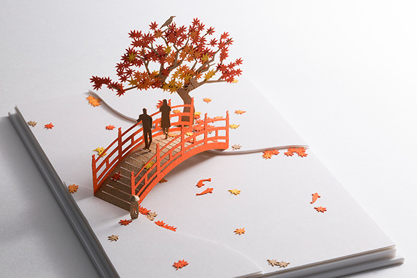 1/100建築模型用添景セット No.61 もみじ狩り編 004