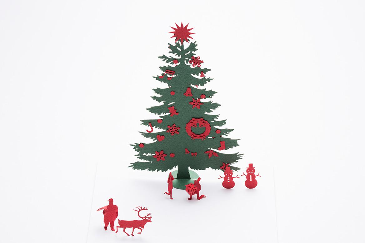 1/100建築模型用添景セット No.69 クリスマス編2