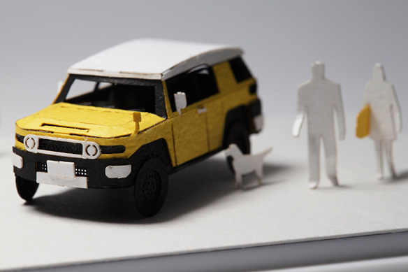 1/100 SCALE ARCHITECTURAL MODEL ACCESSORIES SPECIAL EDITION FJ Cruiser