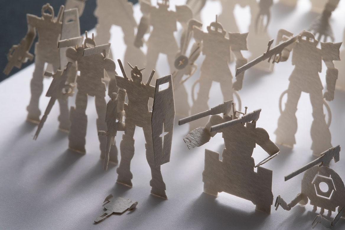 1/7001/700建築模型用添景セット スペシャルエディション 機動戦士ガンダム G01