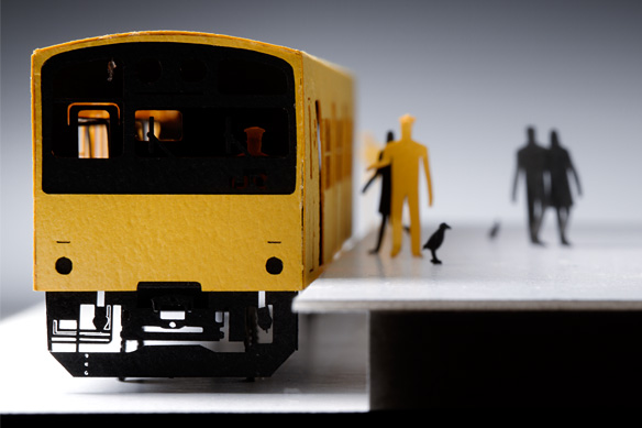 ARCHITECTURAL MODEL ACCESSORIES SERIES JR EAST RAILWAY SOUBU LINE LOCAL SERVICE 201 SERIES