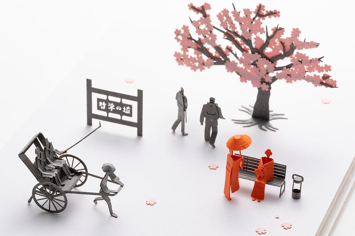 1/100建築模型用添景セット スペシャルエディション「京都編・春」
