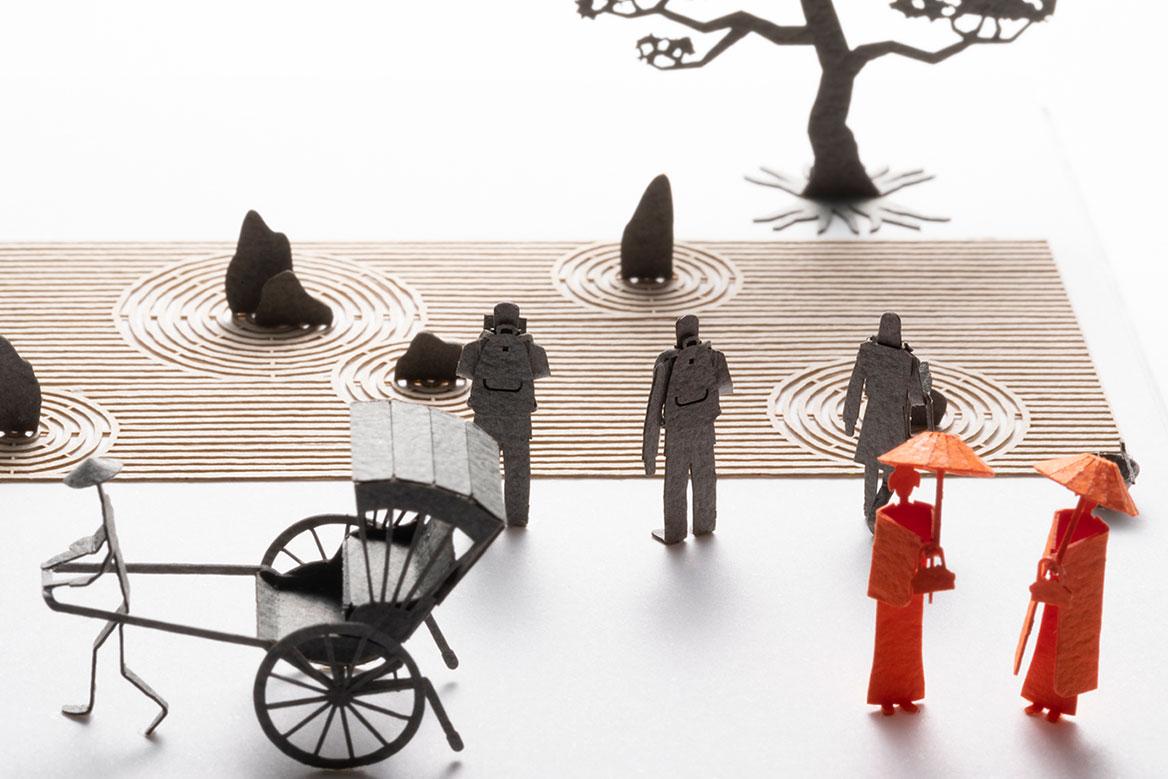1/100建築模型用添景セット スペシャルエディション「京都編・冬」