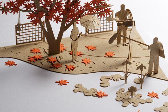 1/100建築模型用添景セット スペシャルエディション 六本木ヒルズ「毛利庭園」編