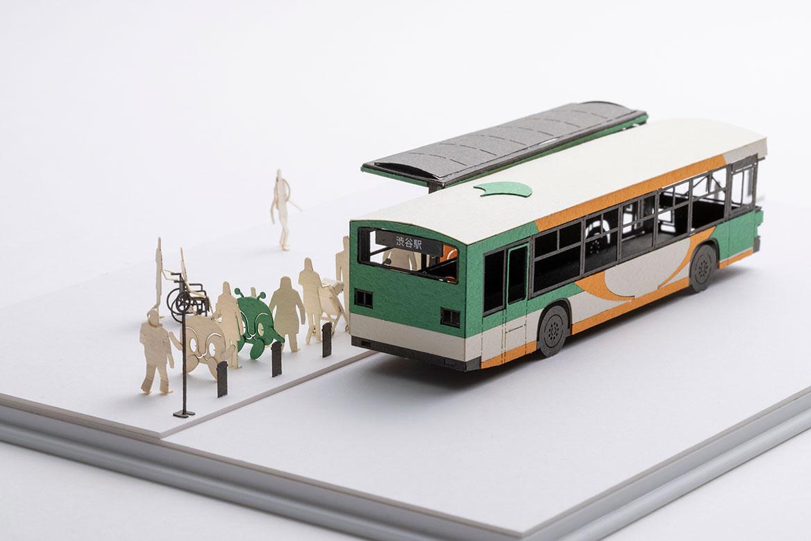 1/100建築模型用添景セット スペシャルエディション 都営バス LV290N3