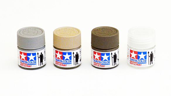 tamiya color toro village water soluble acrylic paints - Tamiya Color