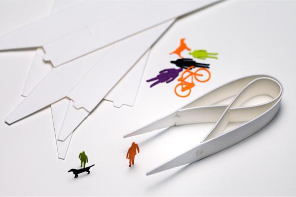 1/100 ARCHITECTURAL MODEL ACCESSORIES SERIES Special Paper Tweezers